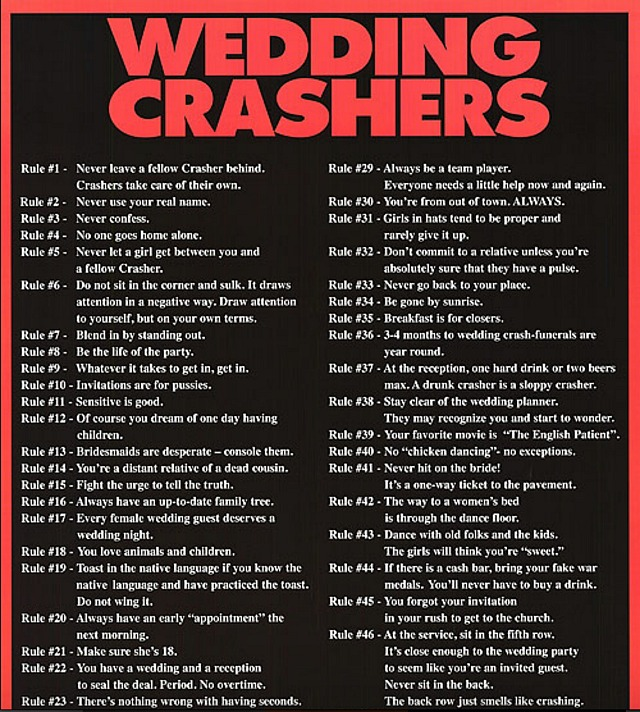 Wedding Crashers Altar Scene: Movie News And Opinions By Jeffrey Wells