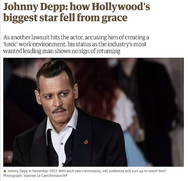 Depp's Dark Night Of The Soul - Hollywood Elsewhere