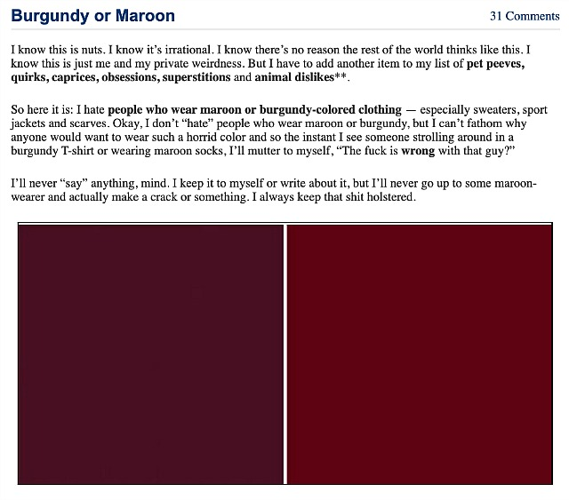 Maroon Fines Citations Hollywood Elsewhere