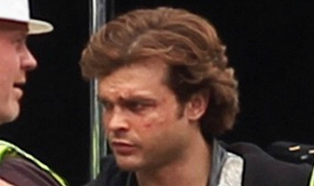 There S Aly Some Concern In Geekville That Alden Ehrenreich 70s Styled Han Solo Hair Is Going To Seem Weirdly Off For A Film Coming Out 2018