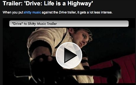 Drive With Crap Music - Hollywood Elsewhere