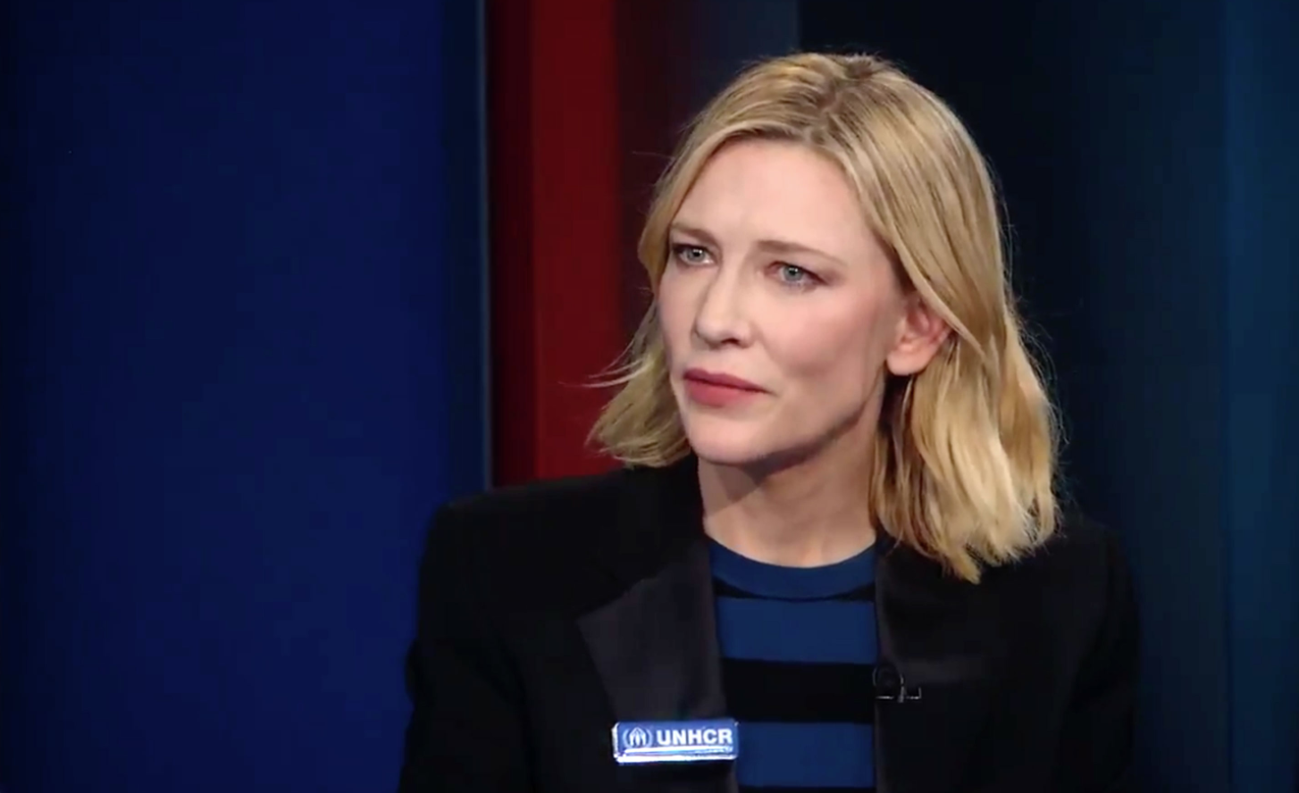 Blanchett Obliquely Defends Woody - Hollywood Elsewhere